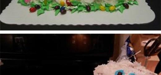 Easter Cake Fail