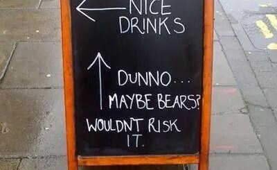 Maybe Bears Sign