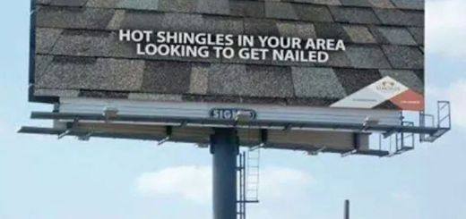 Hot Shingles Billboard