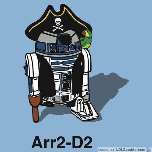 Pirate R2-D2