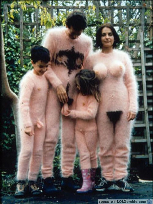 Why? Why be a naked animal family?