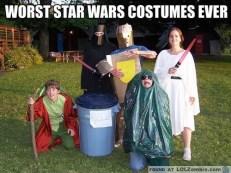 Star Wars, on a budget. Like no budget.