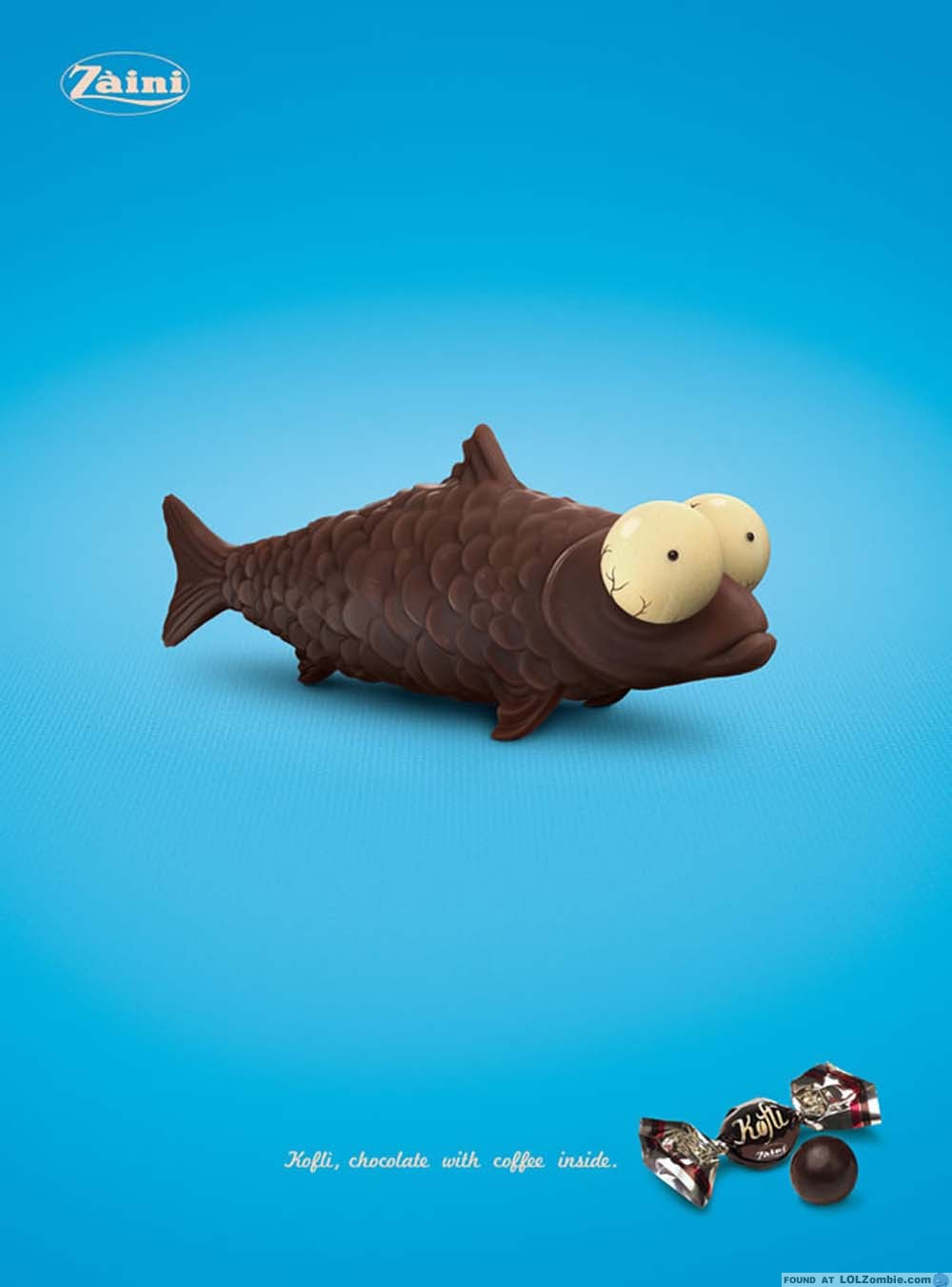 Chocolate Easter Fish