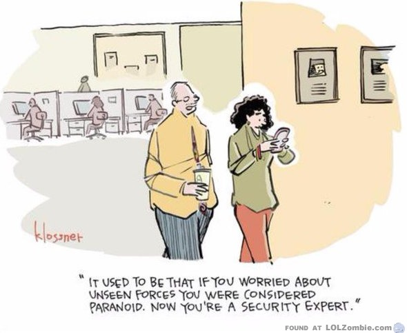 paranoid or security expert