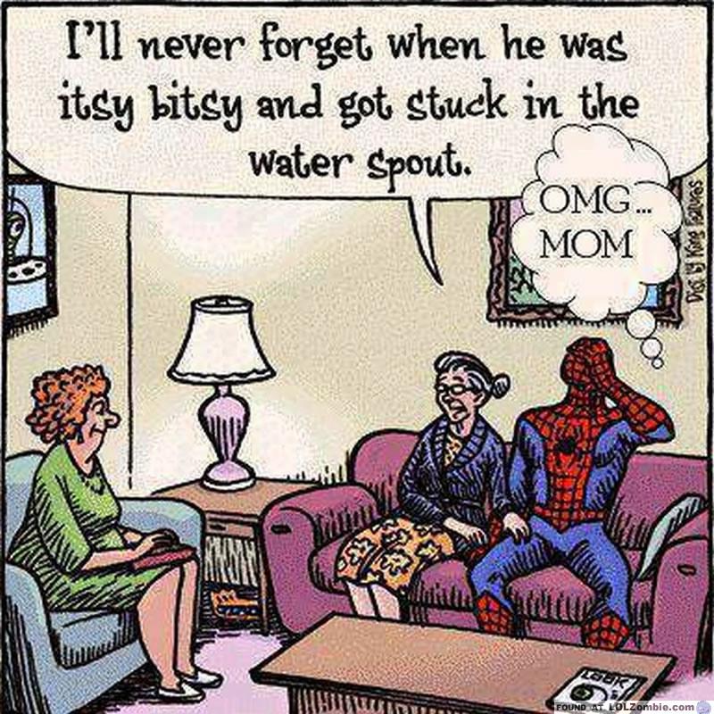 Itsy Bitsy Spider Man