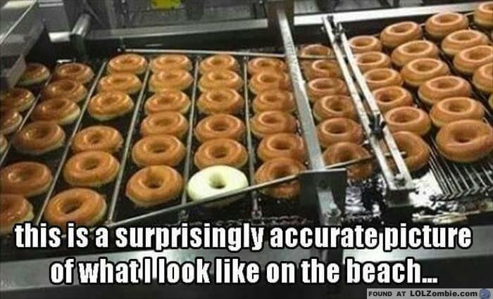 White Donut