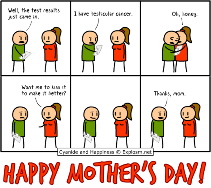 awkward mothers day