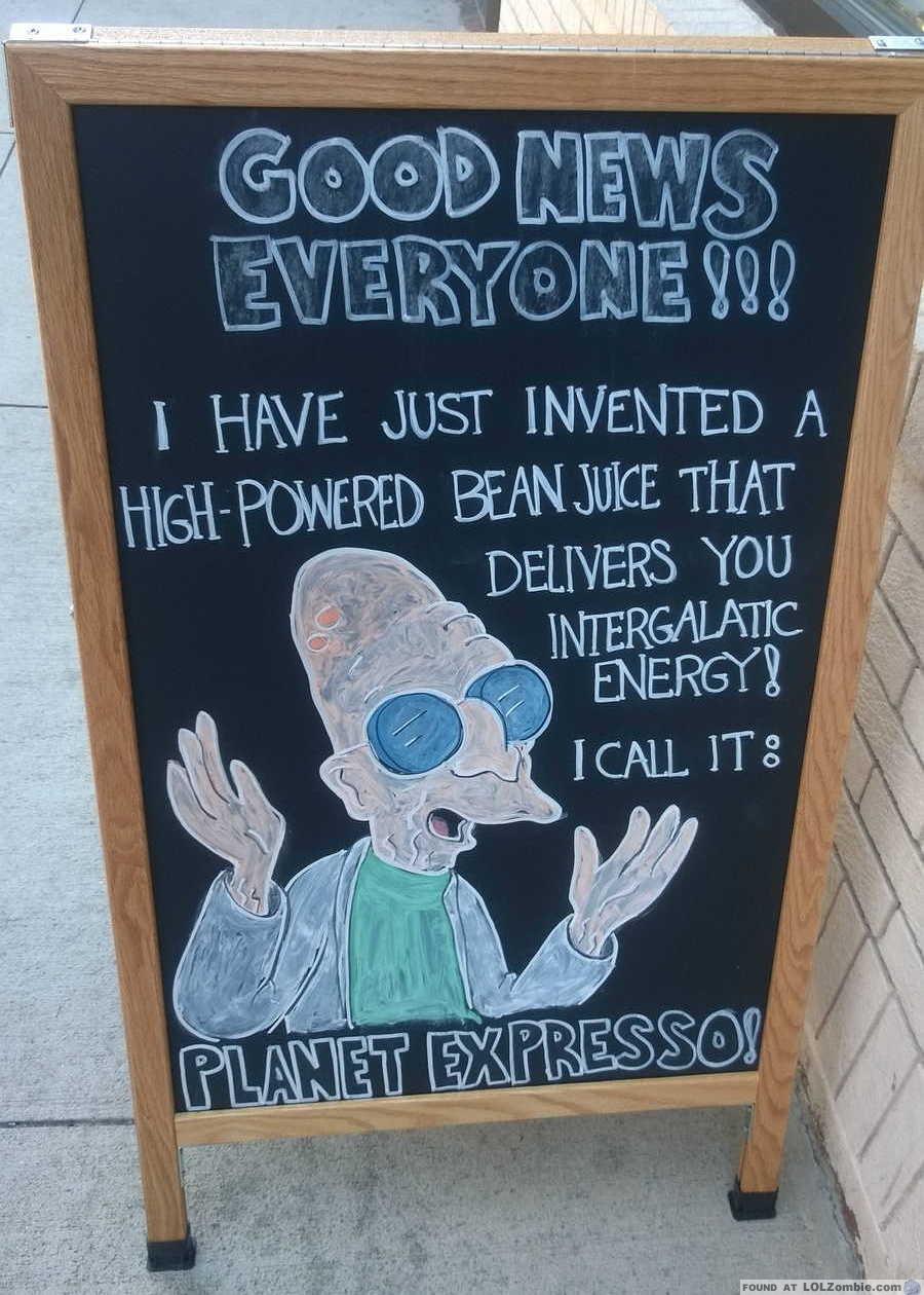 Professor Hubert Farnsworth Sign
