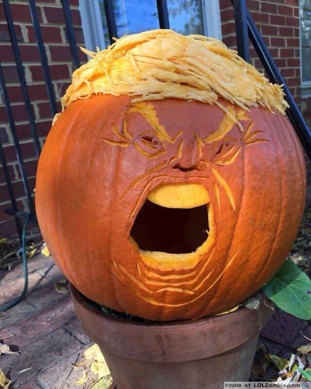 Trump Pumpkin