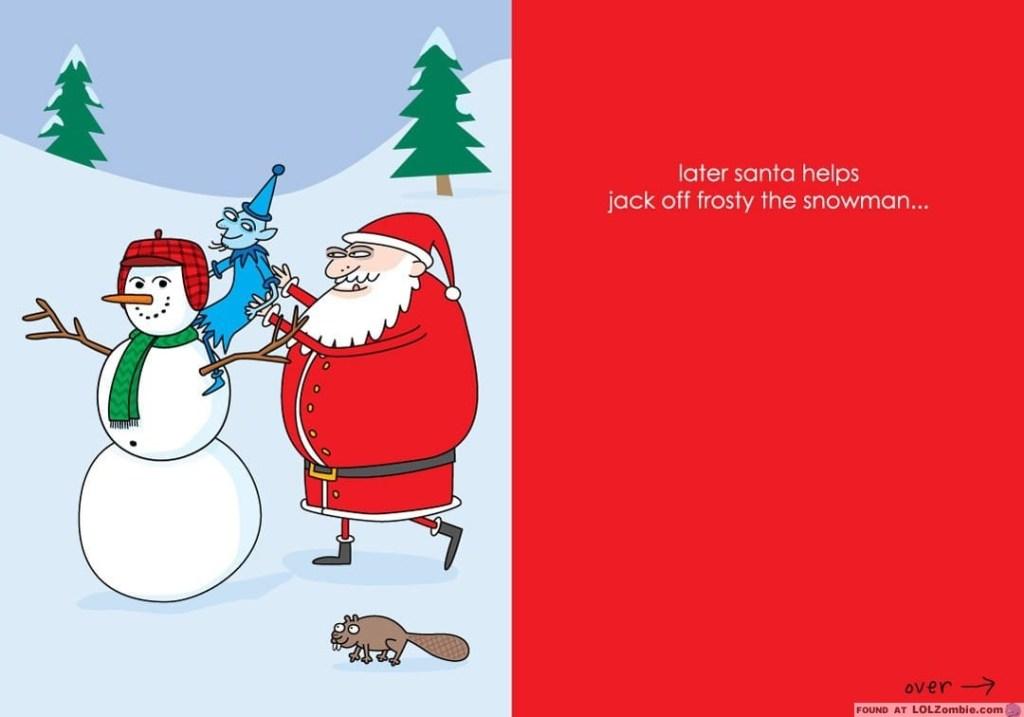 Santa & Jack Card Inside