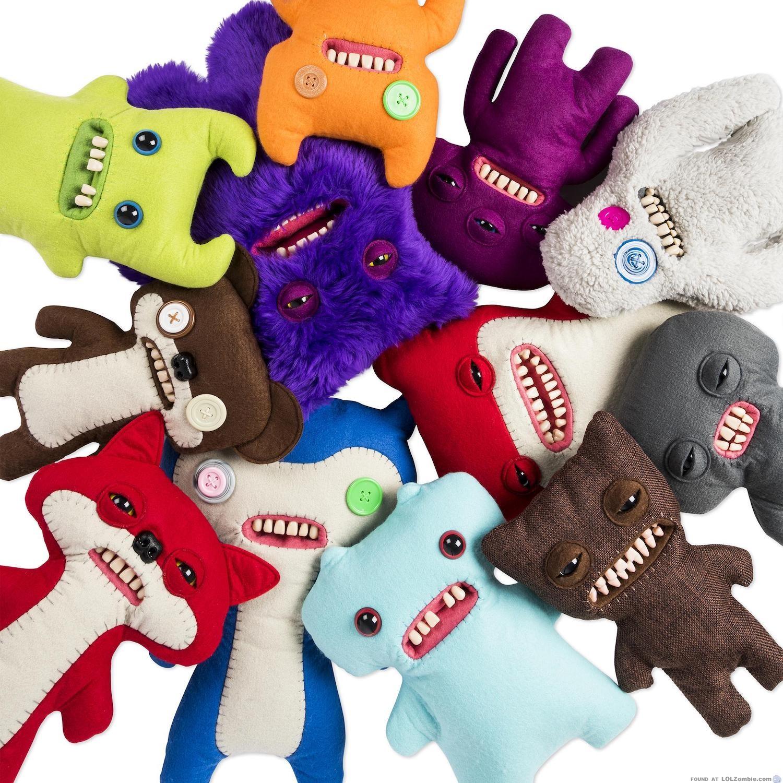 Pile of Fuggler Dolls