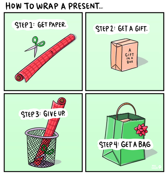 Wrapping Instructions