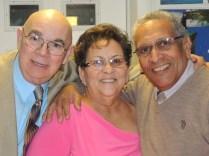 Bertha y José Antonio con Puchi Villanueva