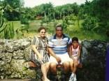 Bertha y José Antonio con el primer Nieto Miami 2