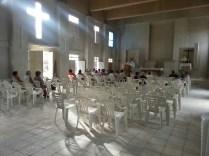 Interior de la Iglesia de la Santísima Trinidad,Sagua de Tánamo