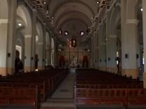 Interior del Santuario de El Cobre