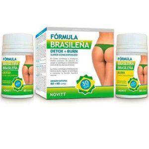 Detox + Burn Fórmula Brasileña - Novity - 60 + 60 comprimidos *
