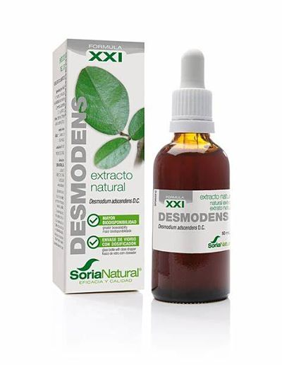 Desmodens Fórmula XXI - Extracto natural - Soria Natural - 50 ml