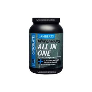 Proteína All in One Sabor a Chocolate - Lamberts - 1.450 gramos