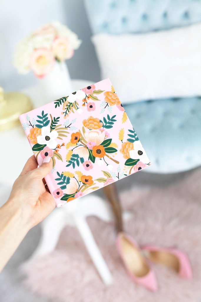 rifle co chat books floral print