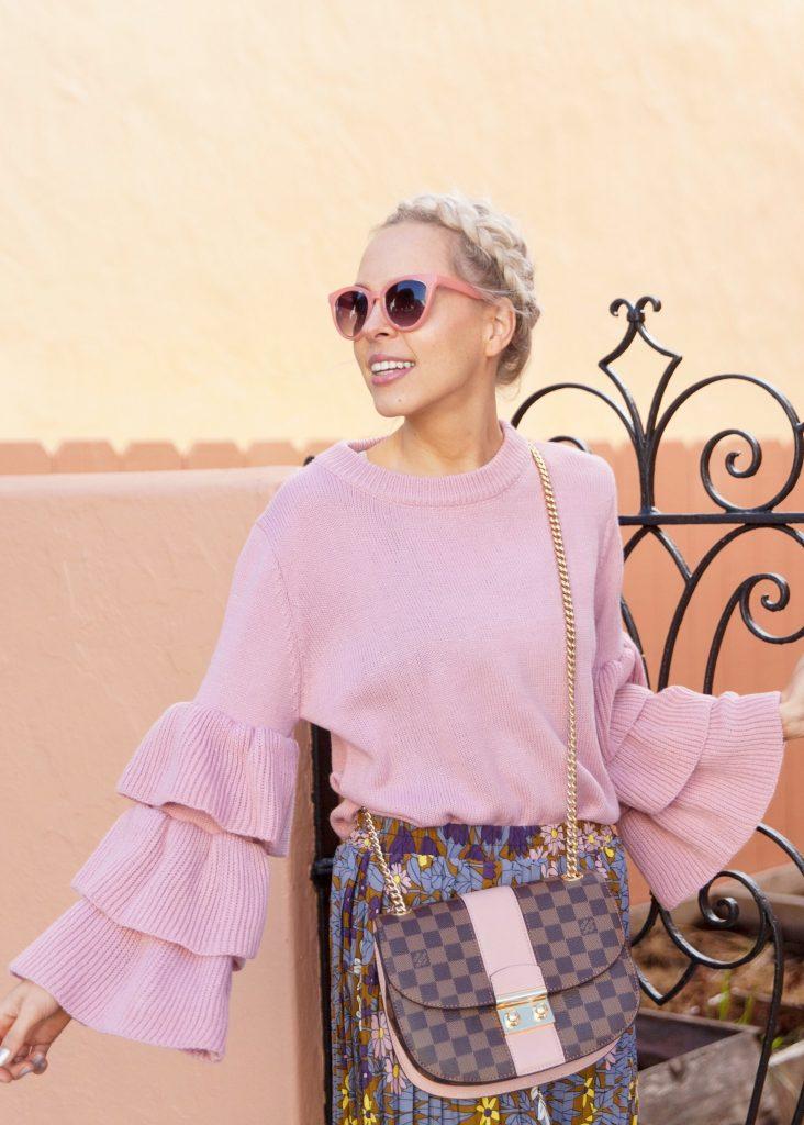 Zaful lavender sweater