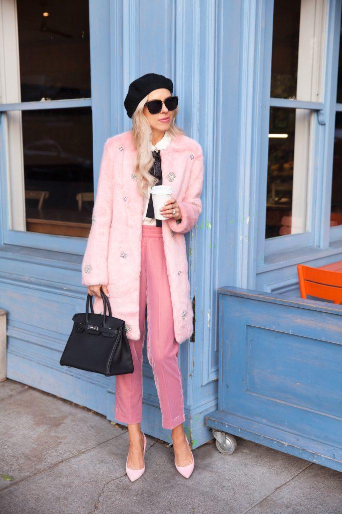 The Season's Must Have Item: Fabulous Faux Fur Coat. Zara embellished faux fur jacket