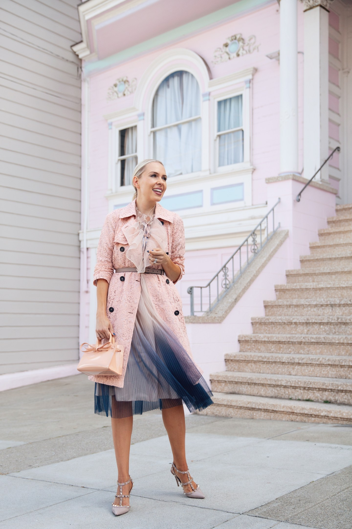 Chicwish two ways to style winter pastels featured by top fashion San Francisco lifestyle blogger, Lombard and Fifth