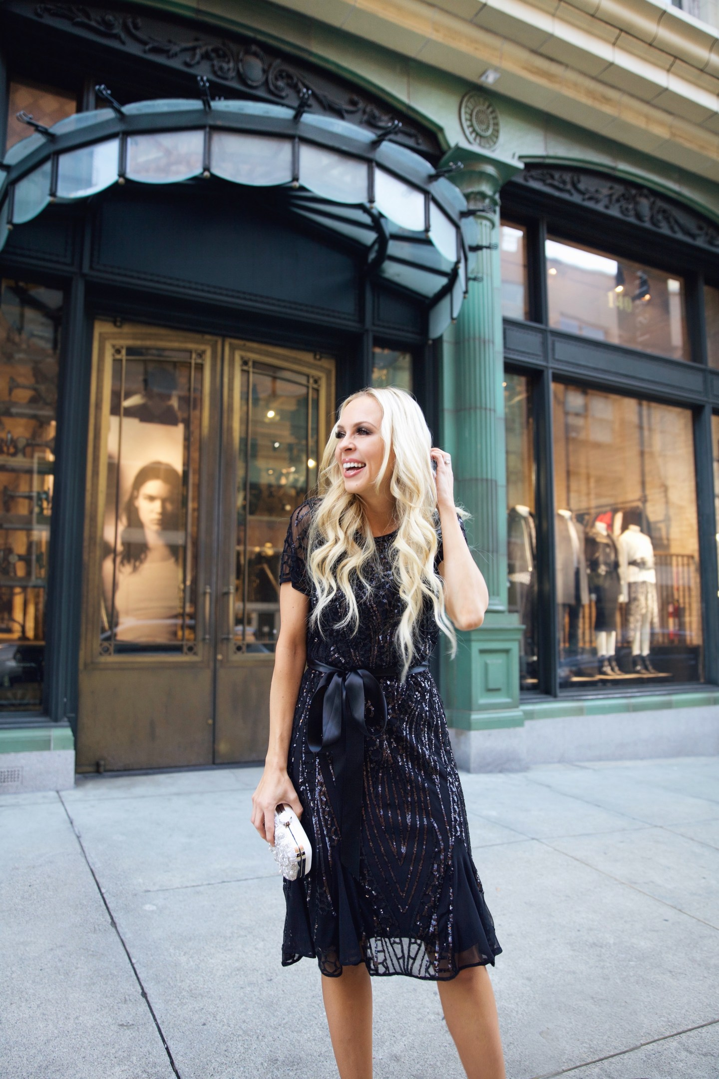 Stage Holiday party style featured by top San Francisco fashion blogger Lombard and Fifth