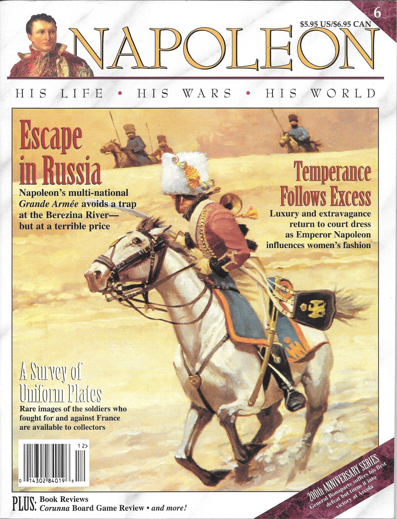 Napoleon issue #6 cover