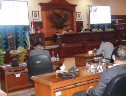 DPRD Provinsi NTB, Setuju Tetapkan Perda Tentang Pertanggungjawaban APBD Tahun 2020