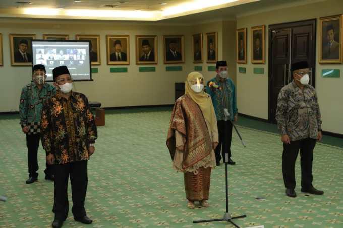 Prof. Masnun Tahir Rektor Baru UIN Mataram 2021