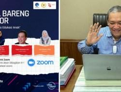 "HBK Hadirkan Webinar ""Internet sebagai Sarana Edukasi Anak"" untuk Konstituen"