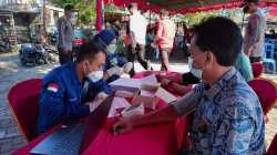 PDIP Lombok Utara Gelar Vaksinasi Massal