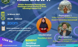 Poster Acara Talk Show IT