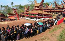 Toraja Funeral Ceremony