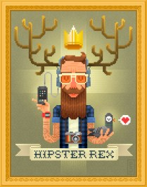 pxl-pixel-art-pixelart-hipster-rex-pijamah-iphone-selfie-beard-mustache-stache-moustache-tatto-tatouage-geek-chic-instagram-polaroid-pigeon-deer-antler-crown-paris-lifestyle-swagg-heart