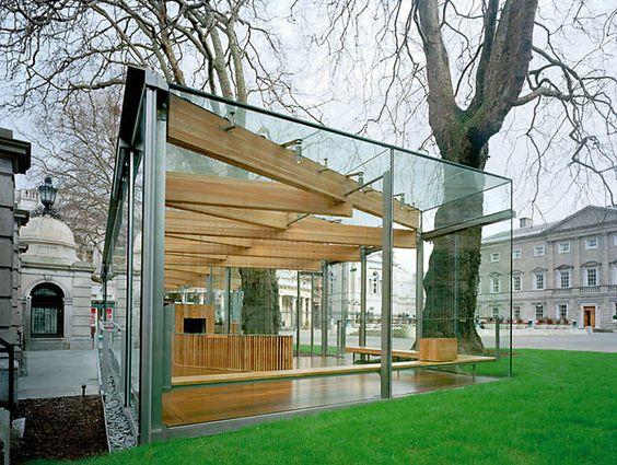 Modern Glass Pavillion Http Lomets Com