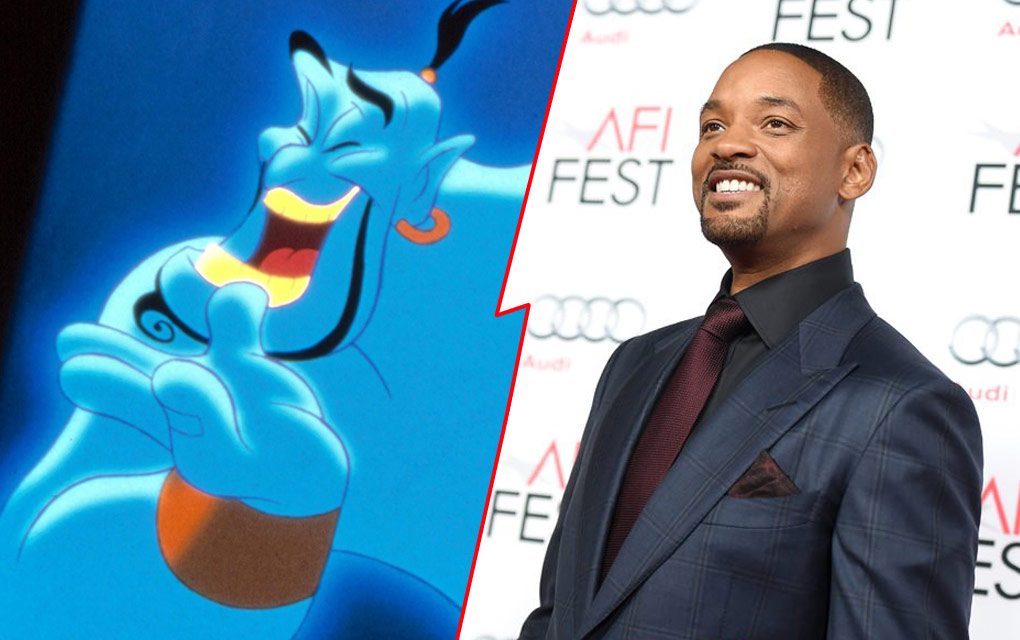 Will Smith negocia con Disney interpretar al genio en