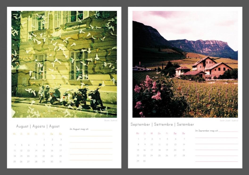 August & September
