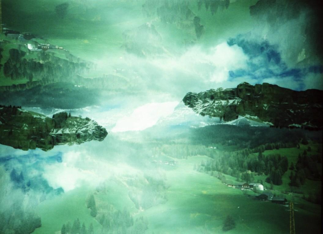 Doppelelichtung in den Dolomiten