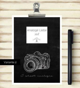 Kalender Analoge Liebe 2018