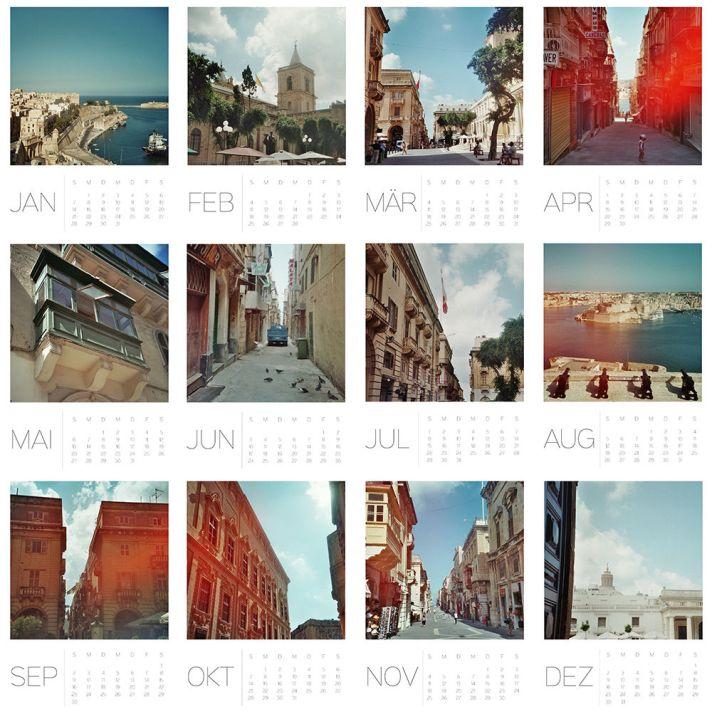 Kalender Valletta 2018