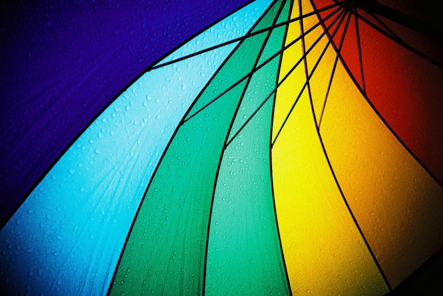 Rainbow Unbrealla London 2001