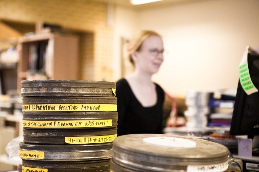 New film being cataloged