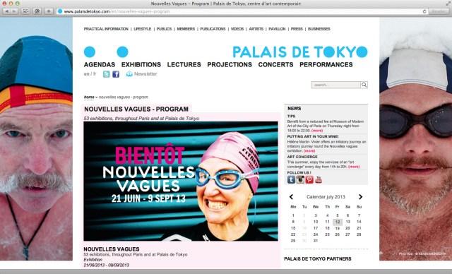 Nouvelles Vagues Palais de Tokyo website