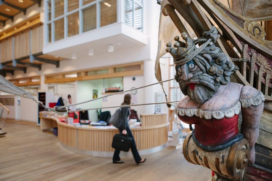 The Pirates Ship Aardman entrance hall