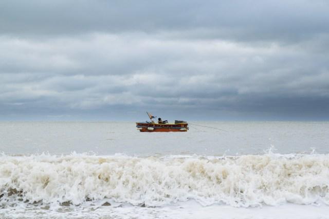 Brighton fisherman shot on the Sasmung Galaxy NX