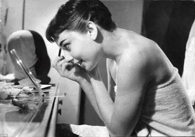 Audrey Hepburn by George Douglas