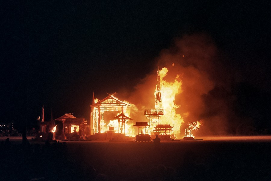 Burning Man 2005 by Kevin Meredith
