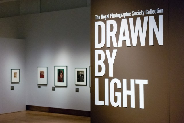 Drawn by light exhibition at the London Science Museums Media Space